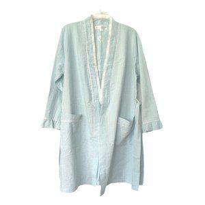 Eileen West Vintage Women's Striped Robe